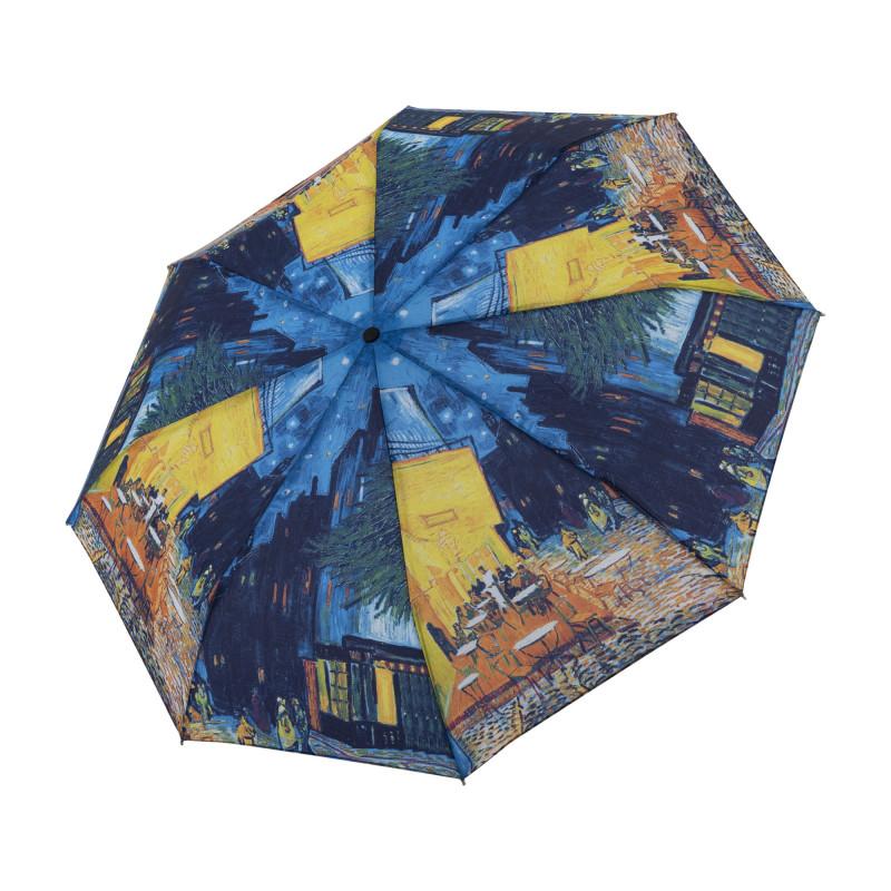 Magic Mini Van Gogh Kavárna - dámský plně automatický skládací deštník