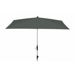 KNIRPS Silver 230 x 150 cm - prémiový zahradní slunečník s klikou a středovou tyčí