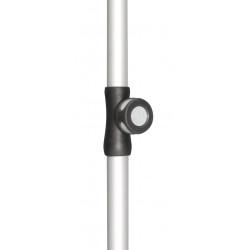 Spodní tyč pro slunečníky Active 28/32 mm stříbrná