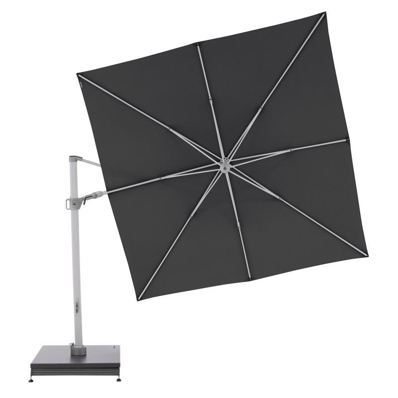 KNIRPS  320 x 320 - luxusní výkyvný zahradní slunečník s boční  tyčí