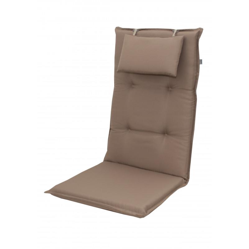 BRILLANT 7846 vysoký - polstr na židli a křeslo