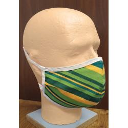 Bavlněná pánská obličejová rouška - dvouvrstvá s kapsou