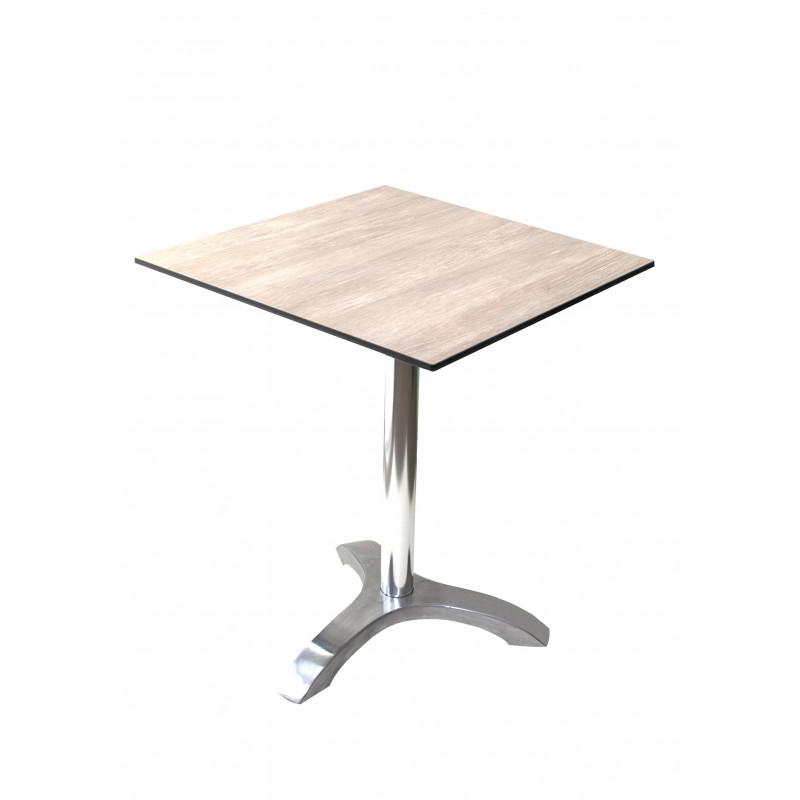 LYON - hliníkový stůl 60x60 cm