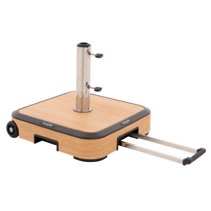 ALU WOOD TROLLEY 50kg - pojízdný stojan s kolečky