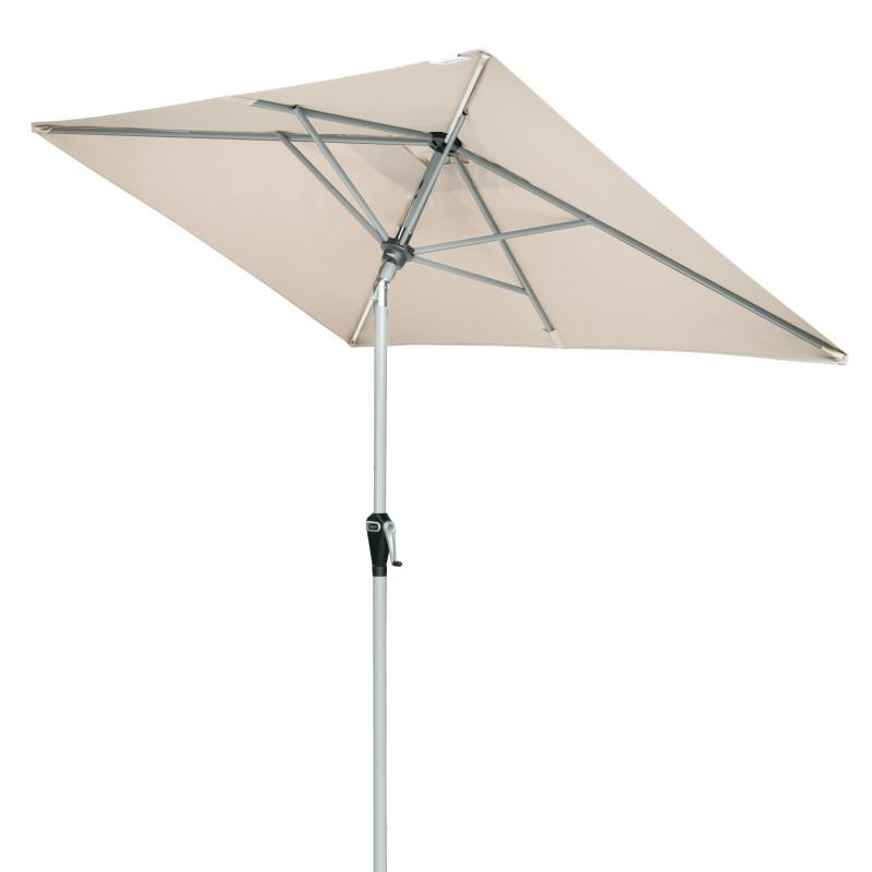 ACTIVE 210x140 cm - slunečník s automatickým naklápěním klikou