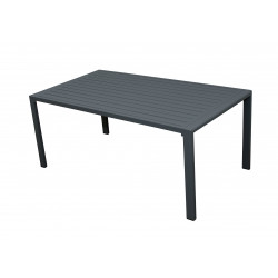 MORISS - zahradní hliníkový stůl 130 x 70 x 55 cm