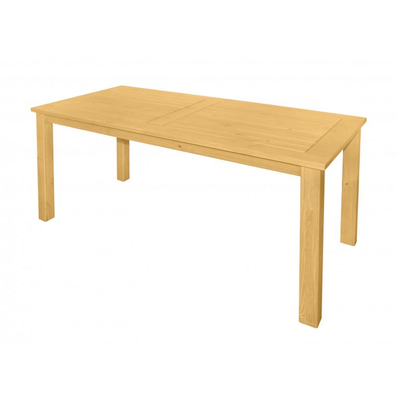 DOVER - dřevěný stůl ze severské borovice 165x80x74,5 cm
