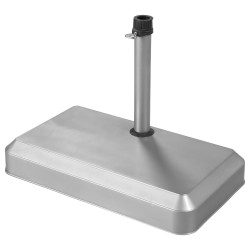 Stojan betonový 25 kg stříbrný pro slunečníky