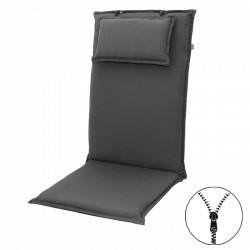 STAR UNI se zipem 7777 vysoký - polstr na židli a křeslo s podhlavníkem
