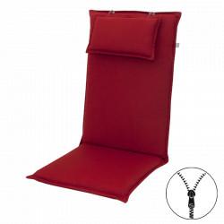 STAR UNI se zipem 2994 vysoký - polstr na židli a křeslo s podhlavníkem