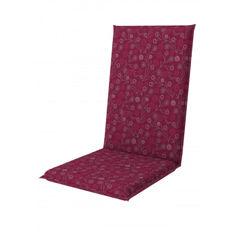 LIVING 1114 vysoký - polstr na židli a křeslo