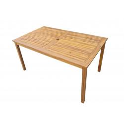 ATLAN - dřevěný stůl 150x90 cm