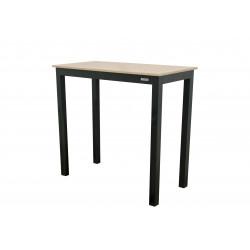 EXPERT WOOD antracit - gastro barový hliníkový stůl 119x60x110cm