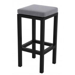 EXPERT antracit - gastro barová židle s polstrem