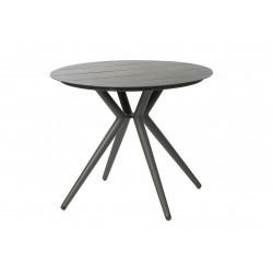 SIT GREY - zahradní hliníkový stůl kulatý 90 cm