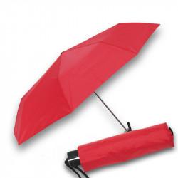 Mini Fiber Uni - dámský červený skládací deštník
