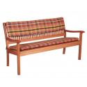 Sedák na 2-místnou lavici 120x45x5 cm