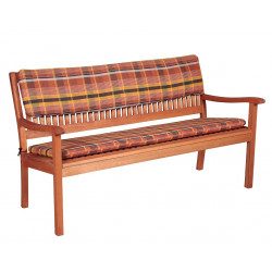 Sedák na 3-místnou lavici 150x45x5 cm
