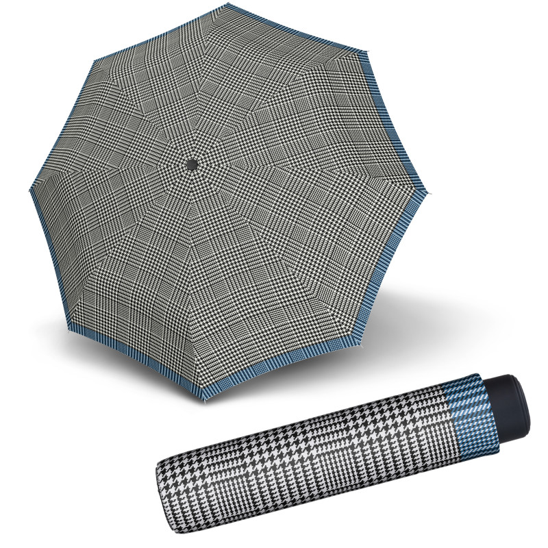 Mini Smart Glencheck  - dámský skládací deštník