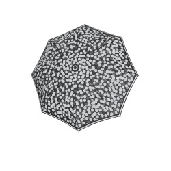 Fiber Magic Black&White - dámský plně automatický deštník