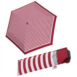 Carbonsteel Mini Slim Delight - dámský mechanický skládací plochý deštník