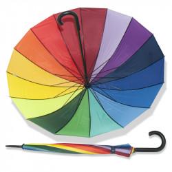 London rainbow - holový deštník