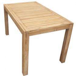 TECTONA - dřevěný stůl 150x90 cm