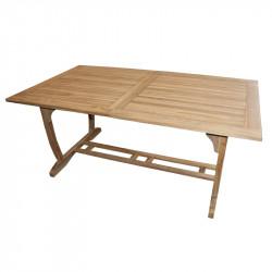 TECTONA - dřevěný rozkládací stůl 180/240x100 cm