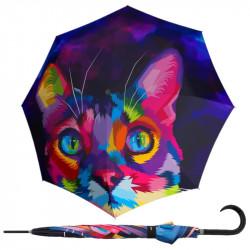 Modern Art KITTEN - holový vystřelovací deštník