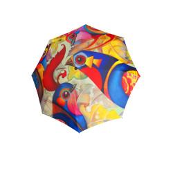 Modern Art BIRDIE - holový vystřelovací deštník