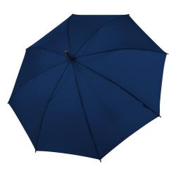 Hit Stick Long Automatic NAVY - dámský holový vystřelovací deštník