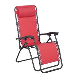 RELAX červené - relaxační polohovací křeslo