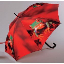 ART LONG Žabky - holový vystřelovací deštník