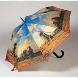 """Monet """"Větrné mlýny"""" - holový vystřelovací deštník"""
