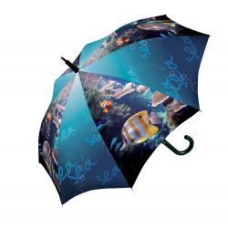 Rybičky - dětský holový vystřelovací deštník
