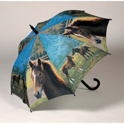 Koně - dětský holový vystřelovací deštník