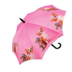 Psi - dětský holový vystřelovací deštník