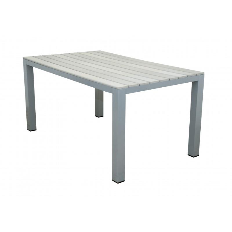 GENUA - hliníkový zahradní stůl 150x90x74 cm