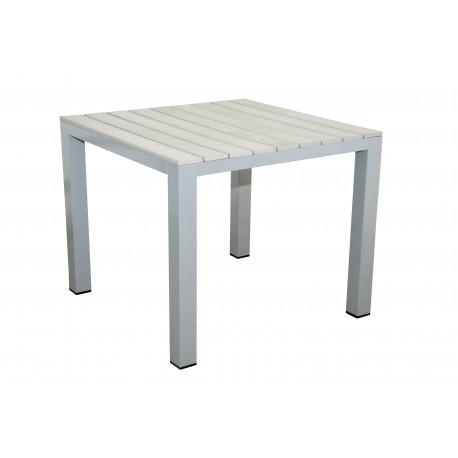 GENUA - hliníkový zahradní stůl 90x90x74 cm