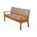 Opěrka na 3 sedadlovou lavicI 150x30x6 cm