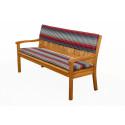 Sedák na 3 sedadlovou lavici 150x45x6 cm
