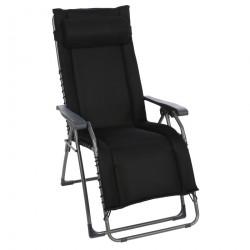 OASI DAYDREAMER černé - polohovací relaxační křeslo