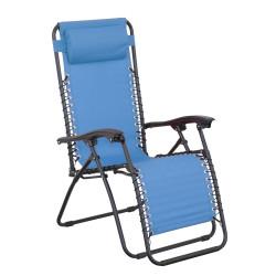 Křeslo Relax modré